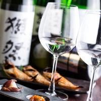 日本酒、焼酎と多彩なお酒扱ってます!