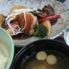 シダックス - 料理写真:イカと彩り野菜の黒酢餡定食
