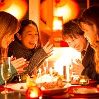 記念日・誕生日・女子会は「個室ほろり火と月の間に」で♪
