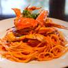 キャボロカフェ - 料理写真:渡り蟹のトマトクリームスパゲッティ【生パスタ】