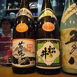 大阪屋 - 産直の日本酒もあったりします