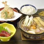 やじろべえ - 味噌煮込み和膳 1,490円