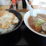 かつや食堂 - カツ丼セット950円