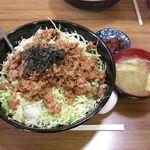 けやき食堂 - 特特特けやき丼 ¥880