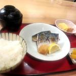 酒蔵 縁 - (日替わり)鯖の塩焼き¥900