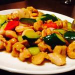 チャイナ厨房 - 鳥肉とカシューナッツ炒め