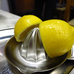 つるや - 生レモンサワー500円