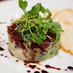 Terrace Dining TANGO - マグロとアボカドのタルタル 熟成バルサミコソース【2013年10月】