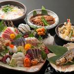 魚竹 - ご予算に応じて様々なコースをご用意。