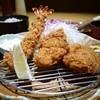 とんかつ かつ友 - 料理写真:まんぷくランチ ヒレ・五穀米・豚汁・アイスコーヒー 1480円。