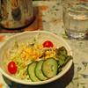 カレーハウス田園 - 料理写真:セットのサラダ。
