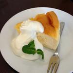 カフェ フラット - チーズケーキ