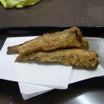 かんちゃん - 氷下魚(こまい)の唐揚げ