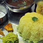 タリカロ - アーンドラ風マトンカリー。ばら肉を柔らかく煮てあり、すごく美味しかった。