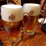 勝元 - エビス生ビール ¥550×2 (外税)