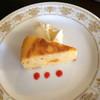 カフェ チャワン - 料理写真:ランチ1200円のミニケーキ。カボチャチーズケーキ。