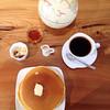 珈琲や - 料理写真:モーニング ホットケーキセット