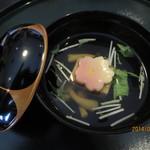 かいせき工房 ききょう - ごま豆腐のお椀