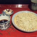仁行 - お昼の蕎麦膳(1800円)のもり