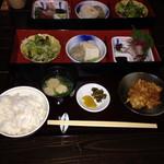 折衷旬彩 香月 - お昼の定食