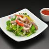 にっこりマッコリ - 料理写真:ゆでイカの辛味噌和え
