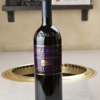 ワインも種類豊富!イタリアン全20州が置いてあります♪
