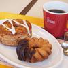 ミスタードーナツ - 料理写真:クロワッサンドーナツとクランツリング
