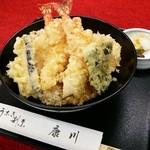 うなぎ割烹 康川 - 天婦羅丼