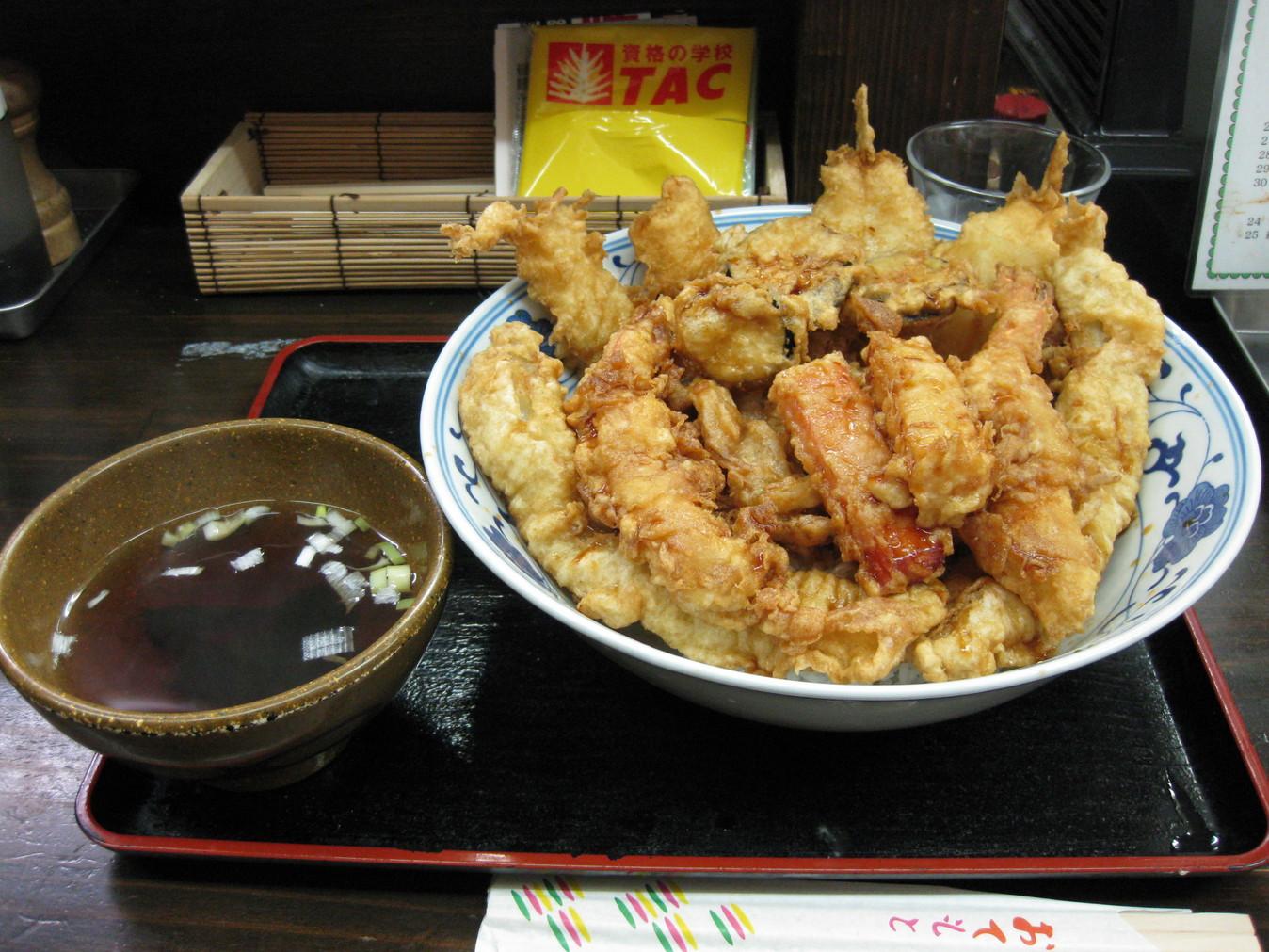 「そば処 此処路」 : 東京でデカ盛り/大盛りランチが食べられる ...
