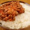 ラーメン 精一杯 - 料理写真:ライスキムチ納豆