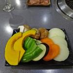 農田地 - 焼き野菜盛り合わせ