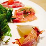 坂の上レストラン - ランチ 前菜