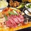 まい堂 - 料理写真:【韓国鉄板焼肉食べ放題&飲み放題】オススメ単品料理も食べ放題なので、コスパ最強!