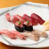 魚寅鮨 - 料理写真:まぐろ三昧