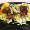 てらおか風舎 - 料理写真:ダイスカットステーキ。国産牛と能登牛のミックス(2,000円税別) lunch