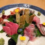 寿司処 八幸 - 料理写真:140409 刺身盛り