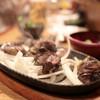 闘鶏 - 料理写真:もも 炙り焼 (800円)  '14 3月上旬