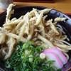 レストラン古那 - 料理写真:美東ごぼう天うどん