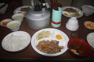 北岳 肩の小屋 - 夕食です