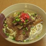 我部祖河食堂 - 料理写真:元祖ソーキそば、一番人気です!