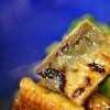 明神下 神田川 - 料理写真:鰻(う)ざくの皮(かは)