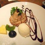 ころころ亭 - デザート(モンブラン)