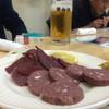 梁山泊 - 料理写真:鹿肉の刺身とソーセージ