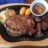 びっくりドンキー - 料理写真:コロコロステーキ&ハンバーグ