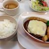 洋食や ブーケ - 料理写真:煮込みハンバーグ  ランチ  850円