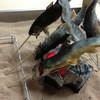 大雪つりぼり - 料理写真:平日限定で釣った魚を炭火で焼いて食べることができます。