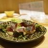 エミマグ - 料理写真:炙り〆鯖と焼じゃが780円