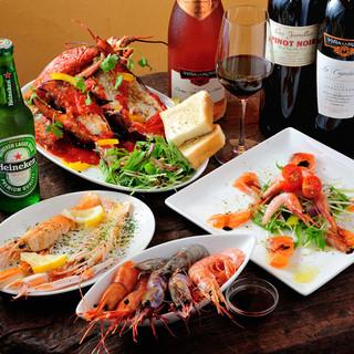 各種宴会にぴったりのコース料理多数ご用意!