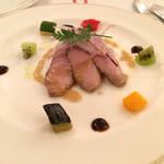 サンマルク - 合鴨と白ねぎ アンチョビ風味のビネグレット