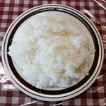 ジェイムスキッチン - ご飯(大盛)